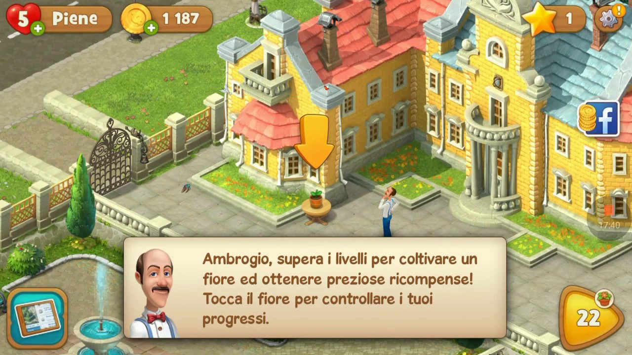 gardenscapes italiano