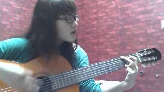 Hello Viet Nam guitar cover by a beginner ^_^