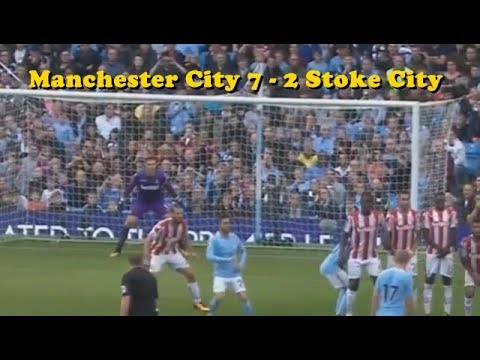 Download Manchester city 7-2 Stoke City All Goals 2017