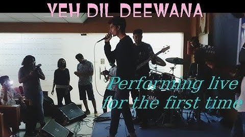 YEH DIL DEEWANA - Performing Live for the first time at SSUET