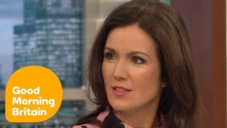 Kate Garraway Mocks Susanna Reid's Dress | Good Morning Britain