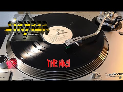 Stryper  The Way  1986 Black VInyl LP
