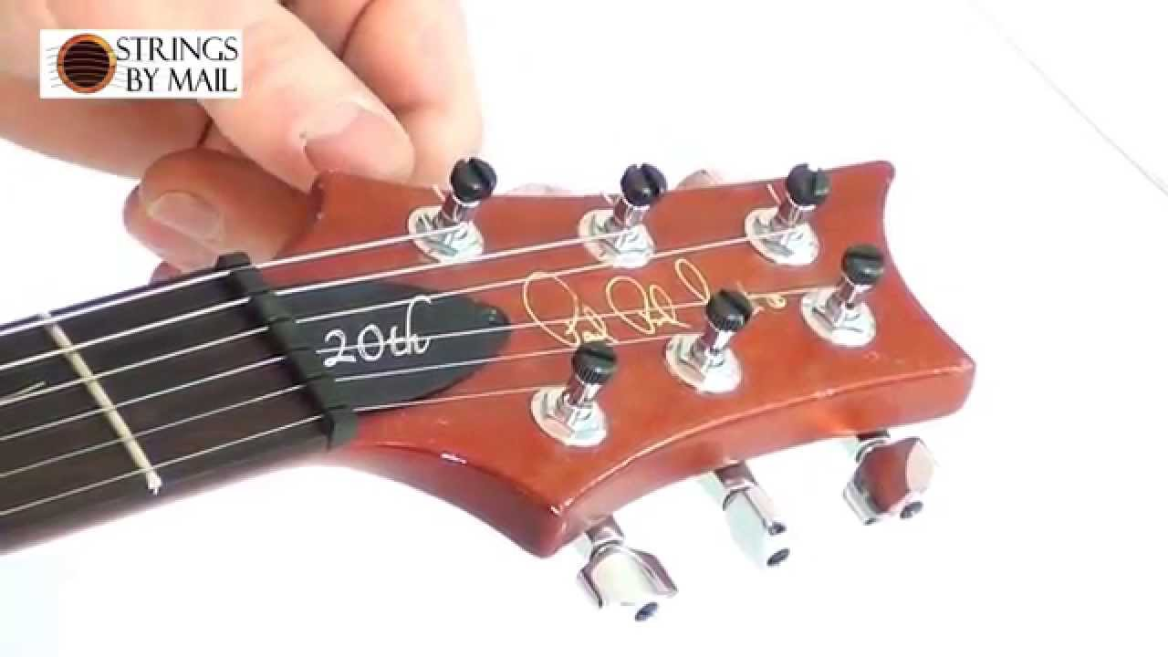 how to change electric guitar strings strings by youtube. Black Bedroom Furniture Sets. Home Design Ideas
