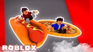WE GOT A PIZZA CAR AT ROBLOX!!!