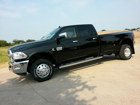 All New 2016 Ram 3500 4x4 Laramie Longhorn Cab Mins