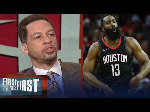 Chris Broussard on James Harden's 60-point night, Talks Kevin Love's injury | FIRST THINGS FIRST