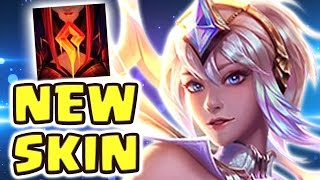THIS IS WHY WE NEED FRIENDLY FIRE !! COOLEST SKIN EVER ELEMENTALIST LUX MID SPOTLIGHT - Nightblue3
