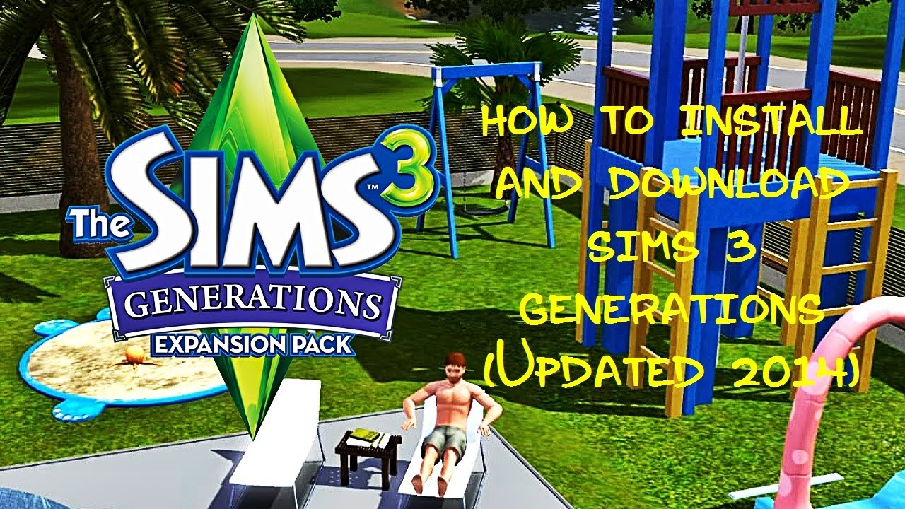 how to download sims 3 generations