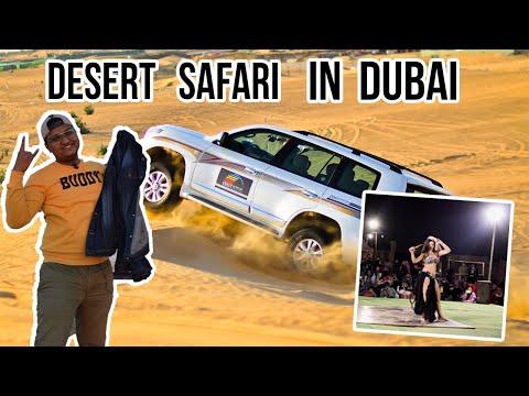 4×4 DUBAI DESERT SAFARI | DUNE BASHING, BBQ DINNER, BELLY DANCING