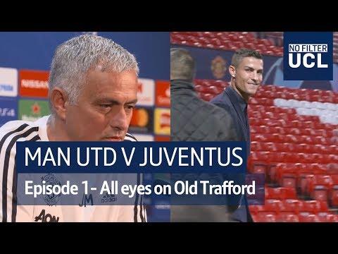 Man Utd v Juventus   Lukaku, Chiellini, and Ronaldo look ahead to classic European tie