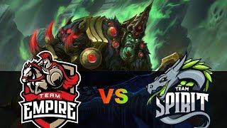 🔴ФИНАЛ СНГ НА STARLADDER MINOR | EMPIRE vs Team Spirit StarLadder i-League Invitational
