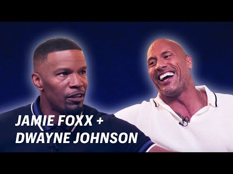 Jamie Foxx Interviews Dwayne Johnson    OFF SCRIPT a Grey Goose Production