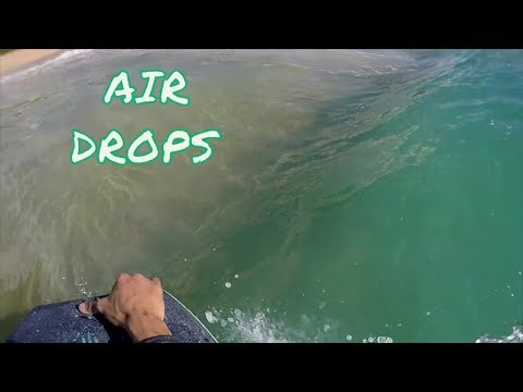 Air Dropping At Sandys!! Bodyboarding POV