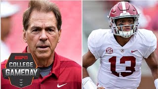 Nick Saban holds Alabama to highest standard 'no matter who the opponent is' | College GameDay