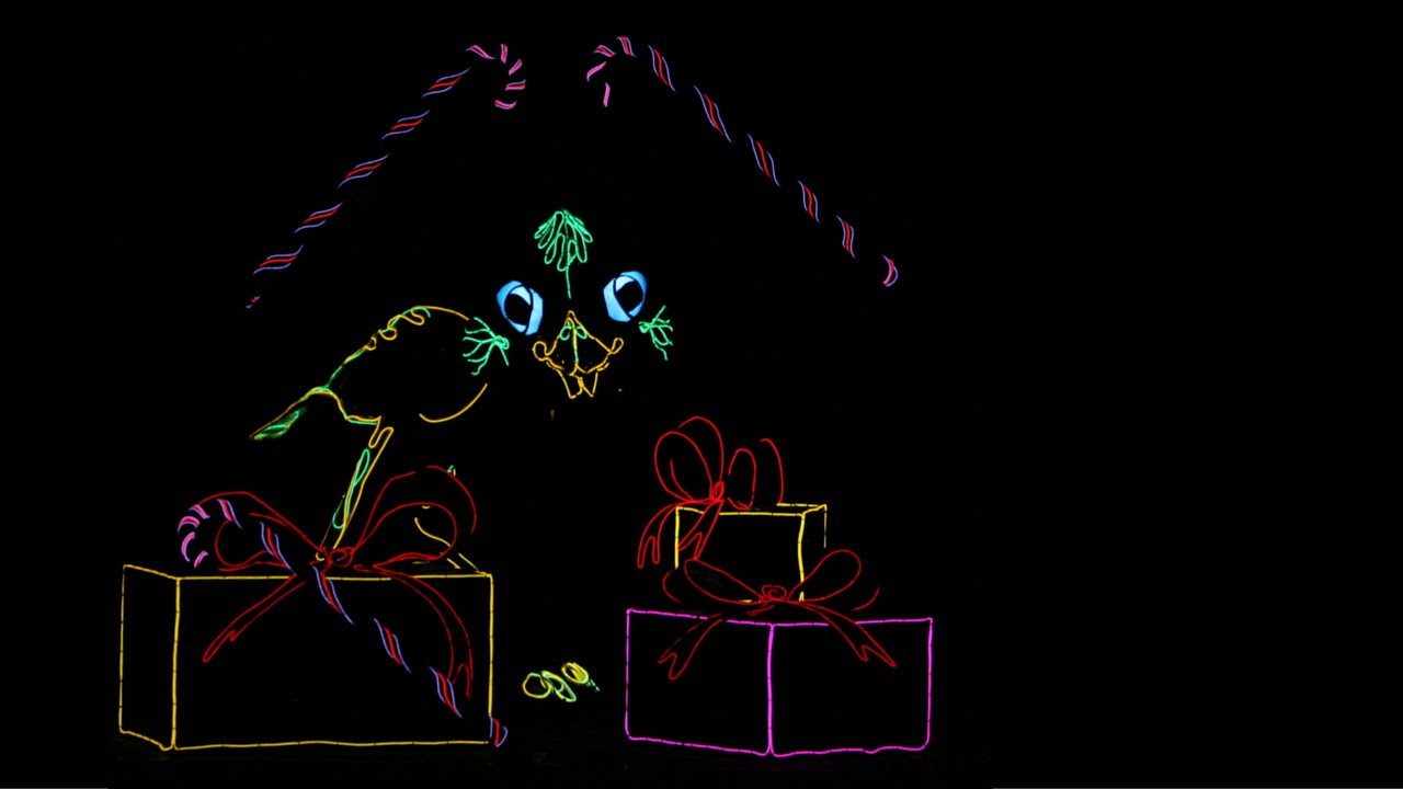 Lightwire Theater - A Very Electric Christmas - YouTube