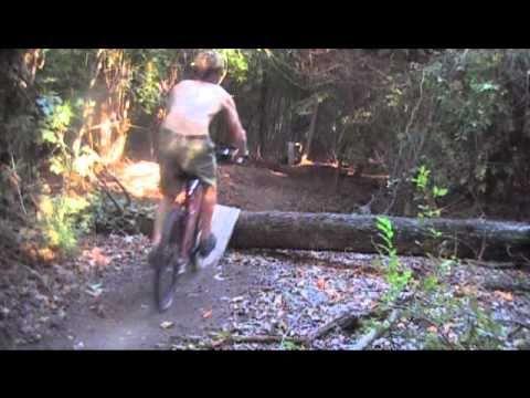 Backyard Mountain Bike Trail Montgomery, Alabama