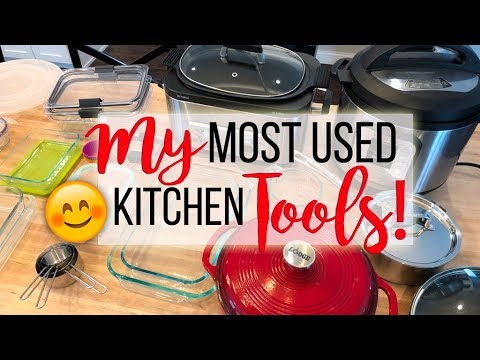 My Favorite Kitchen Tools And Small Appliances Sharing My Most Used Kitchen Tools Youtube