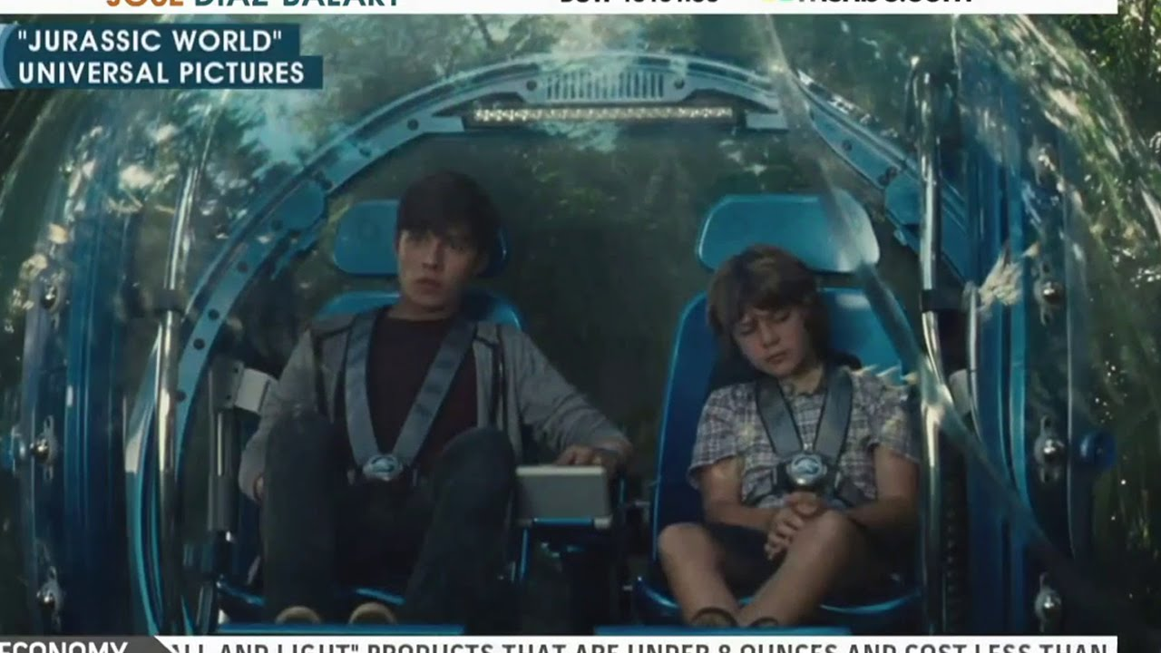 Jurassic World Movie Clip 8 Indominous Suprise 2015 Chris Pratt Dinosaur Movie