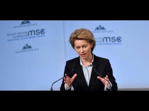 München: Ursula von der Leyen eröffnet Sicherheitskonferenz