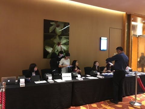 Automate Onsite Registration & Badge Printing For a Major Conference at Marina Bay Sands - Singapore