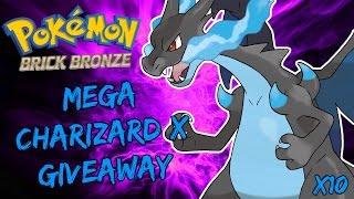 Roblox Pokemon Brick Bronze - Mega Charizard X Giveaway!
