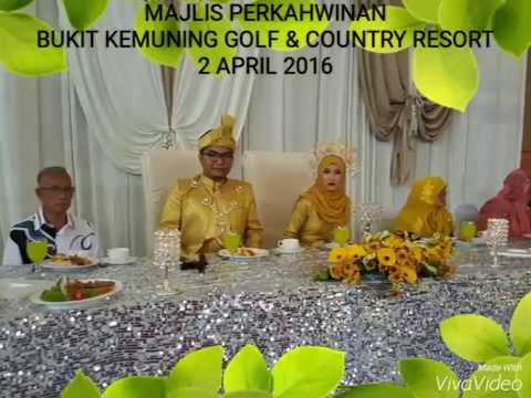 Gamelan RITMASARI.Majlis Perkahwinan-Bukit Kemuning Golf & Country Resort (2 April 2016)
