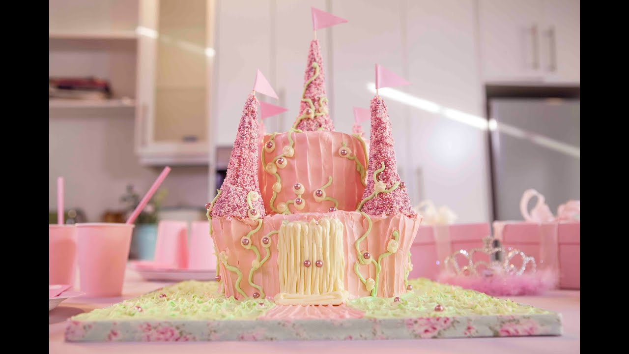 How To Make a Princess Castle Cake Betty Crocker YouTube