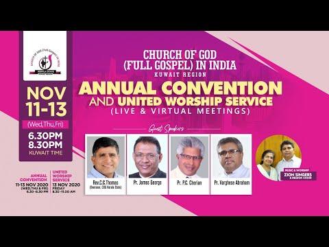 COG Kuwait Region – Day1 – Annual Convention 2020