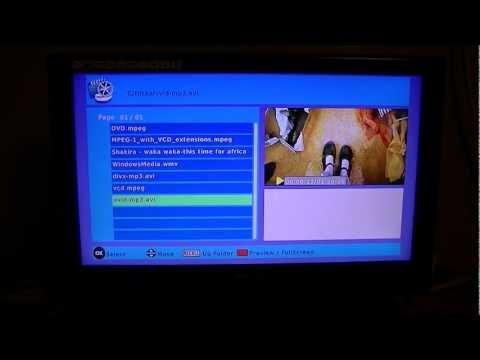 TV Star T1020 HD Irish Digital TV Receiver - Media Player