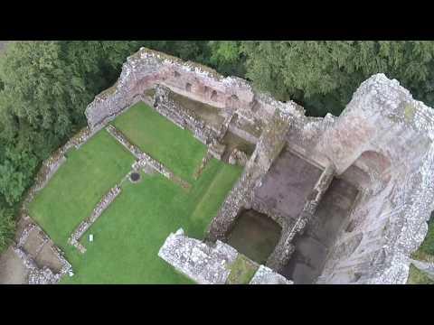 Norham Castle aus der Luft