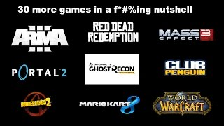 30 games described in 1 sentence pt. 2