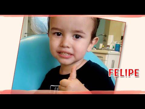 A paz voltou para a família do Felipe