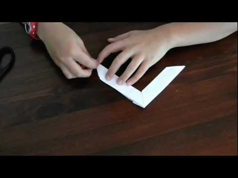 how to make an origami boomerang. Black Bedroom Furniture Sets. Home Design Ideas