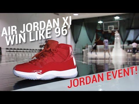 I GOT JORDAN 11S EARLY AT A JORDAN BRAND EVENT!