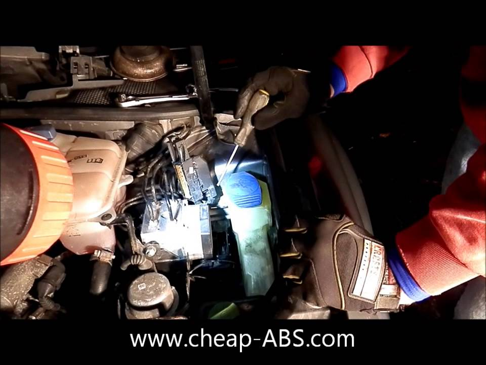 How To Remove An Abs Module From A Vw Passat Or Audi A4 A6