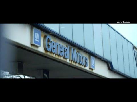 Unifor takes aim at General Motors in Super Bowl ad