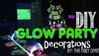 Glow Party Decor Food