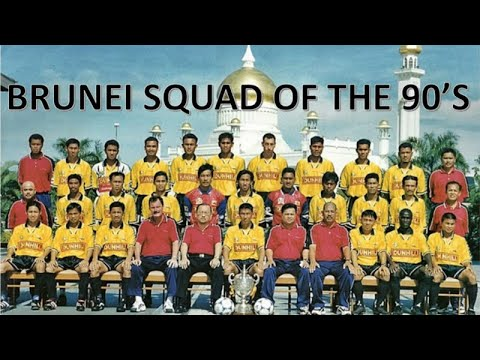 BRUNEI SOCCER TEAM OF THE 90'S
