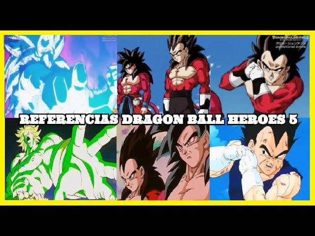 CURIOSIDADES Y ERRORES DRAGON BALL HEROES CAPITULO 5 | VEGETTO SSJ 4 VS KAMBA | ANZU361