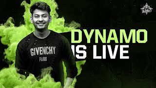 PUBG MOBILE LIVE WITH DYNAMO | TEAM HYDRA VS CONQUEROR LOBBY | SUBSCRIBE & JOIN ME