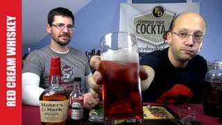 Red Cream Whiskey Cocktail, How-to