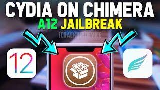 Install Cydia on Chimera A12 Jailbreak iOS 12 - 12.1.2! Remove & Delete  Sileo (NO COMPUTER)
