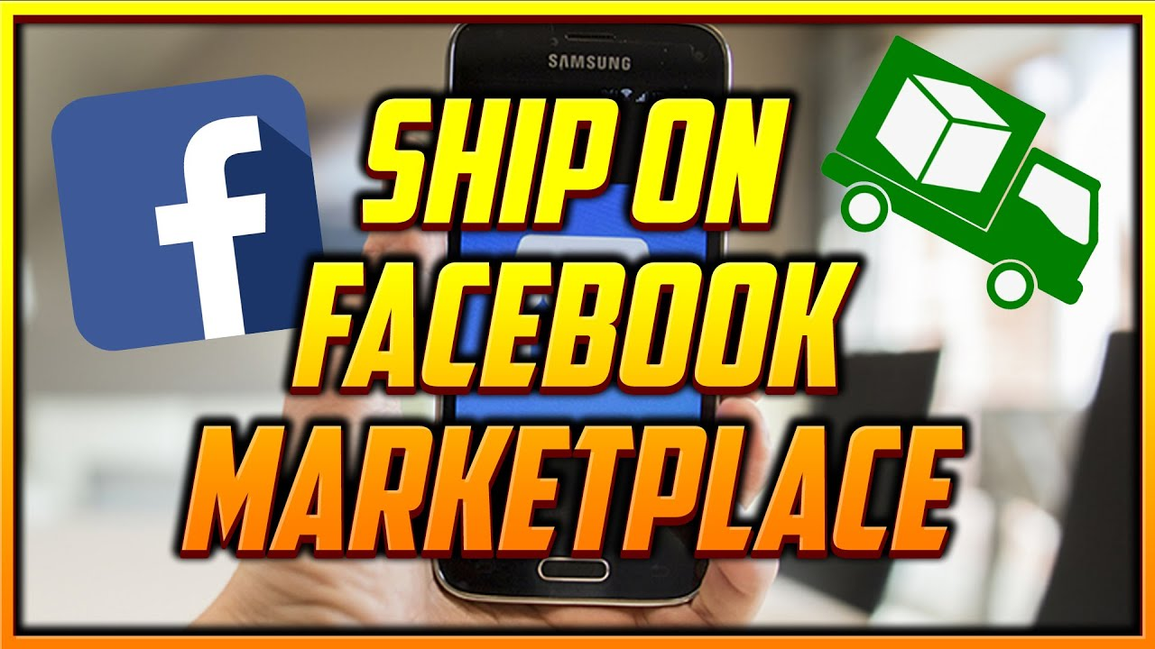 How to Get the Shipping Option When Selling on Facebook Marketplace