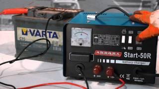 Пуско-зарядное устройство Aurora START 50R(Аппарат - предназначен для пуска двигателя и зарядки свинцово-кислотных аккумуляторов с напряжением 12..., 2013-11-11T13:26:25.000Z)