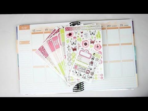 Plan With Me | Hello May (Mock Spread - EC Vertical)
