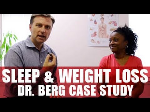 Dr. Eric Berg Case's Study - Amazing Sleep & Weight Loss
