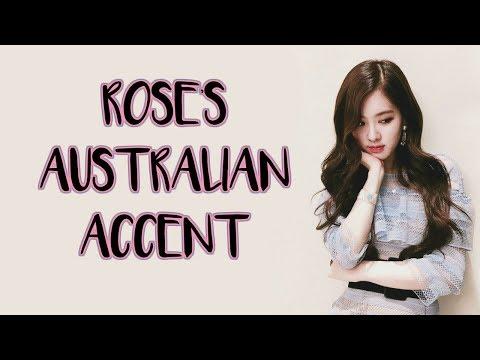 BLACKPINK ROSÉ - AUSTRALIAN ACCENT COMPILATION ♡