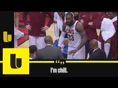 We asked a lip reader what LeBron James was shouting in Cavaliers huddle | The Undefeated | ESPN