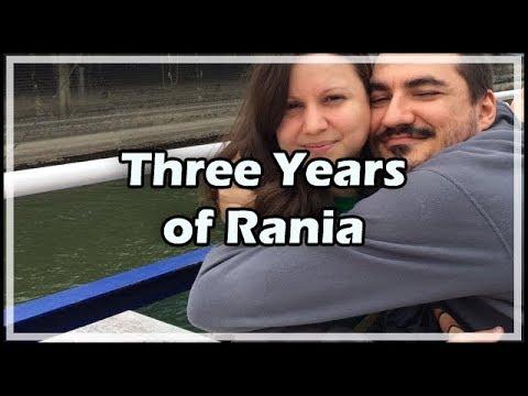 Three Years of Rania