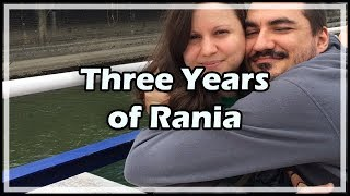 Three Years of Rania